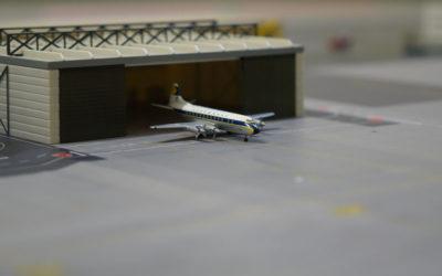 Flughafen restauriert Museumsflieger